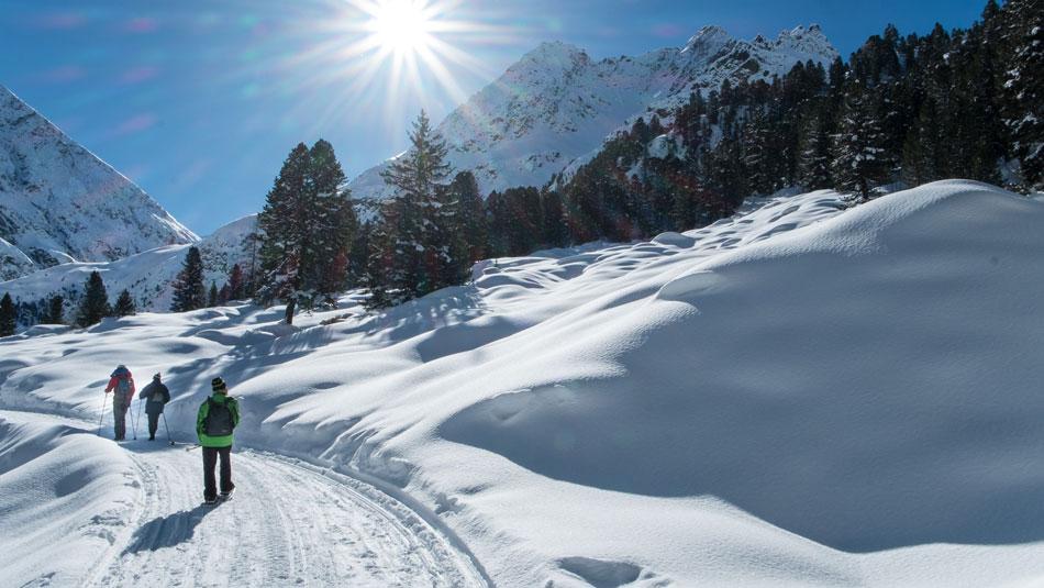 Schneeschuwandern im Ötztal