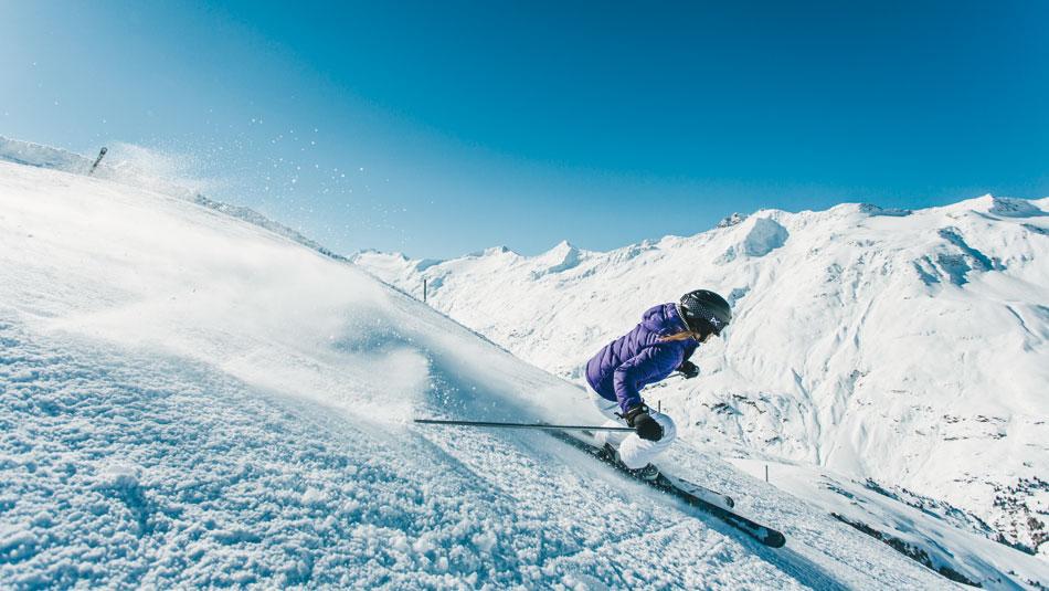 Skifahren in Gurgl